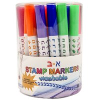 Alef Beis Stamp Markers