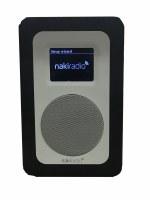 NakiRadio - The First Ever Kosher Wifi Radio Player (Black)