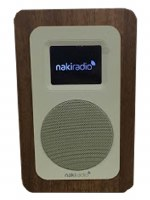 NakiRadio The First Ever Kosher Wifi Radio Player Brown
