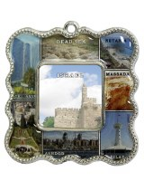 Magnet Israeli Sites Frame