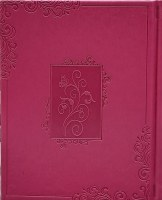 Tehillim Faux Leather Hebrew Small Size Hot Pink
