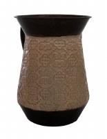 Tin Wash Cup Earthtone Colors
