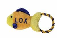 Plush Toy Lox Fish Tug