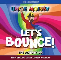 Uncle Moishy Let's Bounce Activity CD