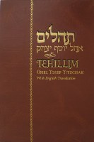 Tehillim Ohel Yosef Yitzchok with English [Hardcover]