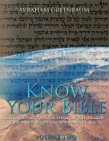 Know Your Bible Volume 2 [Paperback]
