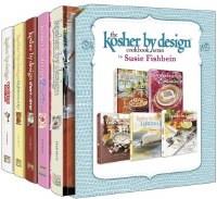 Kosher by Design Cookbook Series 5 Volume Slipcased Set