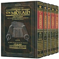 Kleinman Edition Midrash Rabbah Compact Size: Complete 5 volume set of the Megillos [Hardcover]