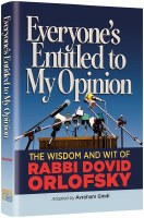 Everyone's Entitled to My Opinion [Hardcover]