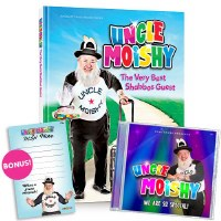Uncle Moishy The Very Best Shabbos Guest! and We Are So Special Music CD [Hardcover]
