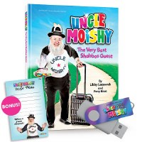 Uncle Moishy The Very Best Shabbos Guest! and We Are So Special Music USB [Hardcover]
