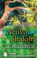 Nesivos Shalom Insights on the Holidays and Avoda [Hardcover]