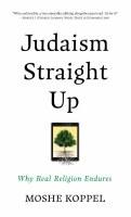 Judaism Straight Up [Hardcover]