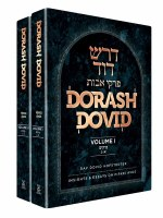 Dorash Dovid Pirkei Avos Slipcased 2 Volume Set English [Hardcover]