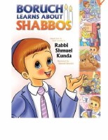 Boruch Learns about Shabbos [Hardcover]