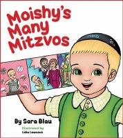 Moishy's Many Mitzvos [BoardBook]