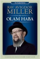 Rav Avigdor Miller on Olam Haba [Hardcover]