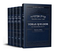 Toras Avigdor on Chumash 5 Volume Set [Hardcover]