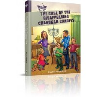 The Case of the Disappearing Chanukah Candles [Hardcover]