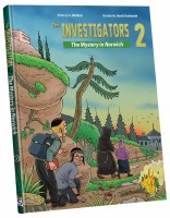 The Investigators 2 The Mystery In Norwich Comic Story [Hardcover]