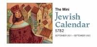 Mini Jewish Calendar 5782/2021-2022