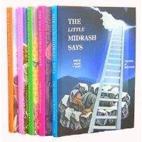 The Little Midrash Says 5 Volume - Non Gift Boxed Set [Hardcover]