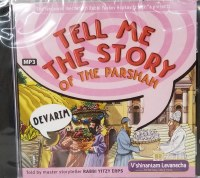 Tell Me the Story of the Parsha Sefer Devarim MP3 Audio CD