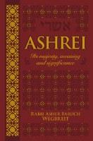 Ashrei Pocket Size [Hardcover]