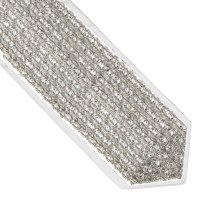 Atara Silver Colored Weave Net Design