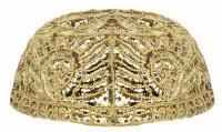 Yarmulka Gold Atarah Style