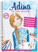 Adina My Design Sketchbook [SpiralBound]