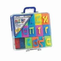 Alef-Bet EVA Stamp Set in Carrying Case