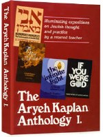 Aryeh Kaplan Anthology Volume I [Hardcover]