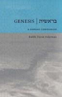 Genesis: Bereishis A Parsha Companion [Hardcover]