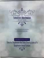 Tehillim Mechulak Hebrew and English 39 Laminated Volumes