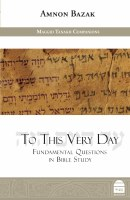 To This Very Day [Hardcover]