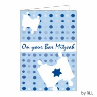 Bar Mitzvah Card E1204