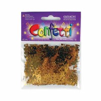 Bar Mitzvah Gold Confetti