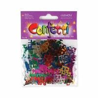 Bat Mitzvah Multi Colored Confetti