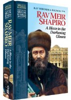 A Blaze in the Darkening Gloom Rav Meir Shapiro [Hardcover]