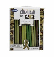 Chanukah For A Cause Candles KosherTroops