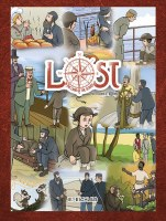 Lost in the Land of Slaves Comics Story [Hardcover]