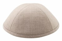 Cool Kippah Beige Linen 4 Part #5