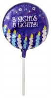 Chanukah Lollies Milk Chocolate 1 Lollipop OU-D
