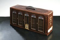 Chumash Mikraos Gedolos Oz Vehadar Pocket Volume Set in Carrying Case