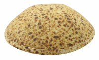 Cool Kippah Matzah Design 4 Part 19cm