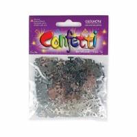 Bar Mitzvah Silver Coloured Confetti
