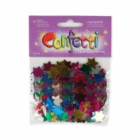 Star of David Multi Colored Confetti