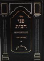 Pnei HaBayis Maseches Succah Volume 1 [Hardcover]