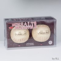 Ceramic Matza Ball Salt and Pepper Shaker Set